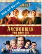 Anchorman: The Legend of Ron Burgundy + Anchorman 2: The Legend Continues - Two Movie Set (UK Import ohne dt. Ton) Blu-ray