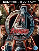 Avengers: Age of Ultron (2015) 4K - Zavvi Exclusive Steelbook (4K UHD + Blu-ray) (UK Import)