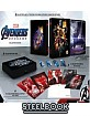Avengers: Endgame 3D - Zavvi Exclusive Light Up Box Edition Steelbook (Blu-ray 3D + Blu-ray + Bonus Disc) (UK Import ohne dt. Ton)