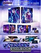 Avengers: Endgame 4K - WeET Collection Exclusive #08 Lenticular Fullslip B1 Steelbook (4K UHD + Blu-ray + Bonus Blu-ray) (KR Import)