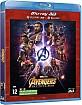 Avengers: Infinity War 3D (Blu-ray 3D + Blu-ray) (CH Import) Blu-ray