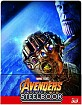 Avengers: Infinity War 3D - Limited Edition Steelbook (Blu-ray 3D + Blu-ray) (CH Import) Blu-ray