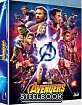 Avengers: Infinity War 3D - WeET Collection Exclusive #4 A2 Fullslip Steelbook (Blu-ray 3D + Blu-ray) (KR Import ohne dt. Ton) Blu-ray