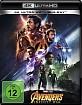 Avengers: Infinity War 4K (4K UHD + Blu-ray) (CH Import) Blu-ray