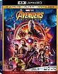 Avengers: Infinity War 4K (4K UHD + Blu-ray + Digital Copy) (US Import ohne dt. Ton) Blu-ray