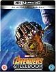 Avengers: Infinity War 4K - Zavvi Exclusive Limited Edition Steelbook (4K UHD + Blu-ray) (UK Import)