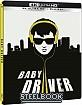 Baby Driver (2017) 4K - Amazon Exclusive Edición Metálica (4K UHD + Blu-ray) (ES Import ohne dt. Ton) Blu-ray