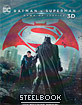Batman v Superman: Dawn of Justice (2016) 3D - Novamedia Exclusive Limited Lenticular Slip Steelbook (KR Import ohne dt. Ton)