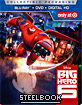 Big Hero 6 (2014) - Target Exclusive Steelbook (Blu-ray + DVD + UV Copy) (US Import ohne dt. Ton) Blu-ray