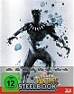Black Panther (2018) 3D - Limited Edition Steelbook (Blu-ray 3D + Blu-ray) (CH Import)