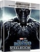 Black Panther (2018) 4K - WeET Collection Exclusive #3 A1 Fullslip Steelbook (4K UHD + Blu-ray 3D + Blu-ray) (KR Import ohne dt. Ton)
