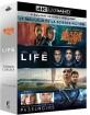 Blade Runner 2049 4K + Premier contact (2016) 4K + Passengers (2016) 4K + Life (2017) 4K (4K UHD + Blu-ray) (FR Import) Blu-ray
