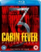 Cabin Fever 3: Patient Zero (UK Import ohne dt. Ton) Blu-ray