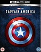 Captain America - 3-Movie Collection 4K (4K UHD + Blu-ray) (UK Import) Blu-ray