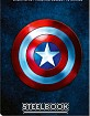 Captain America - 3-Movie Collection - Zavvi Exclusive Steelbook (UK Import) Blu-ray