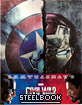 Captain America: Civil War (2015) 3D - Limited Edition Steelbook (Blu-ray 3D + Blu-ray) (HK Import ohne dt. Ton) Blu-ray
