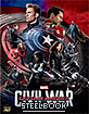 Captain America: Civil War (2015) 3D - Novamedia Exclusive Limited Full Slip Type A Edition Steelbook (KR Import ohne dt. Ton) Blu-ray