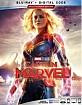 Captain Marvel (2019) (Blu-ray + DVD + Digital Copy) (US Import ohne dt. Ton) Blu-ray