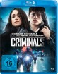 Criminals (2015) Blu-ray