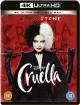 Cruella (2021) 4K (4K UHD + Blu-ray) (UK Import) Blu-ray