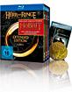 """Der Herr der Ringe - Trilogie (Extended Edition) (inkl. """"Der Hobbit: Die Schlacht der fünf Heere""""-Kinogutschein + Sammlermünze) Blu-ray"""