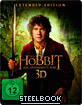 Der Hobbit: Eine unerwartete Reise 3D - Extended Version (Limited Edition Steelbook) (Blu-ray 3D)