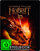 Der Hobbit: Smaugs Einöde 3D - Extended Version (Limited Edition Steelbook) (Blu-ray 3D)