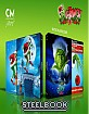 Dr. Seuss' How the Grinch Stole Christmas (2000) - Cine-Museum Art Lenticular Fullslip Steelbook (4K UHD + Blu-ray) (IT Import) Blu-ray