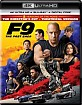 F9: The Fast Saga 4K - Theatrical and Director's Cut (4K UHD + Blu-ray + Digital Copy) (US Import ohne dt. Ton) Blu-ray