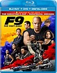 F9: The Fast Saga - Theatrical and Director's Cut (Blu-ray + DVD + Digital Copy) (US Import ohne dt. Ton) Blu-ray