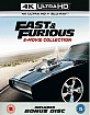 Fast & Furious 4K - 8-Movie Collection Digibook (8 4K UHD + 8 Blu-ray + Bonus DVD) (UK Import) Blu-ray