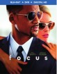 Focus (2015) (Blu-ray + DVD + UV Copy) (US Import ohne dt. Ton) Blu-ray