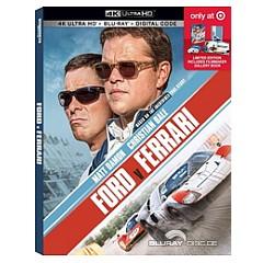 Ford V Ferrari 2019 4k Target Exclusive Digipak 4k Uhd Blu Ray Digital Copy Us Import Ohne Dt Ton Blu Ray Film Details