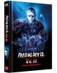 Freitag der 13. - Teil VII - Jason im Blutrausch (Mediabook Edition) (Cover D) Blu-ray