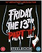Friday the 13th Part 2 - Zavvi Exclusive 40th Anniversary Limited Edition Steelbook (UK Import ohne dt. Ton) Blu-ray