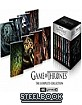 Game of Thrones: The Complete Series 4K - Limited Edition Steelbook Custom Case (4K UHD + Bonus Blu-ray) (UK Import) Blu-ray