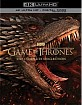 Game of Thrones: The Complete Series 4K (4K UHD + Bonus Blu-ray + Digital Copy) (US …