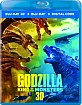 Godzilla: King of the Monsters 3D (Blu-ray 3D + Blu-ray + Digital Copy) (US Import ohne dt. Ton) Blu-ray