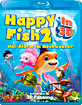 Happy Fish 2 - Hai-Alarm im Hochwasser 3D (Blu-ray 3D) (CH Import) Blu-ray
