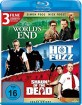 Hot Fuzz + Shaun of the Dead + The World's End (Cornetto Trilogie) (Neuauflage) Blu-ray