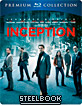 Inception (Premium Steelbook Collection) (UK Import ohne dt. Ton), + dt. Uncut-BD, neuwertig, fehlerfrei, Innenprint