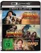 Jumanji (1995) 4K + Jumanji - The Next Level 4K + Jumanji - Will