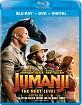 Jumanji - The Next Level (Blu-ray + DVD + Digital Copy) (US Import ohne dt. Ton) Blu-ray