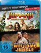 Jumanji: Willkommen im Dschungel + Welcome to the Jungle (Best of Hollywood Collection) Blu-ray