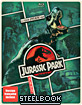 Jurassic Park - Limited Edition Steelbook (Blu-ray + DVD + UV Copy) (CA Import ohne dt. Ton) Blu-ray