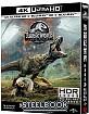 Jurassic World: Fallen Kingdom (2018) 4K - Limited Edition Fullslip Steelbook (4K UHD + Blu-ray 3D + Blu-ray + Bonus DVD) (TW Import ohne dt. Ton) Blu-ray
