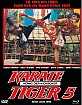 Karate Tiger 5 - König der Kickboxer (Limited Mediabook Edition) (Cover C) Blu-ray