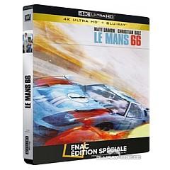 Le Mans 66 4k Fnac Exclusive Steelbook 4k Uhd Blu Ray Fr Import Ohne Dt Ton Blu Ray Film Details