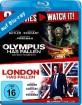 London Has Fallen + Olympus Has Fallen + Angel Has Fallen 4K (Triple Film Collection) (4K UHD + Blu-ray)