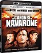 Los Cañones de Navarone 4K (4K UHD + Blu-ray) (ES Import) Blu-ray